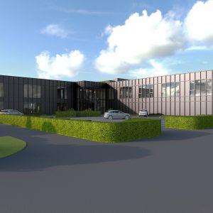 Ny bygning tager form